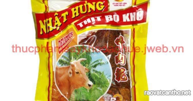 Sỉ lẻ khô bò miếng Nhật Hưng